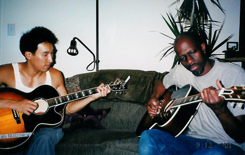 Kevin So and Keb' Mo' in Los Angeles 9/12/01