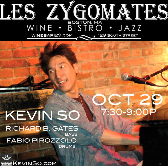 Kevin So Trio Les Zyg 2018